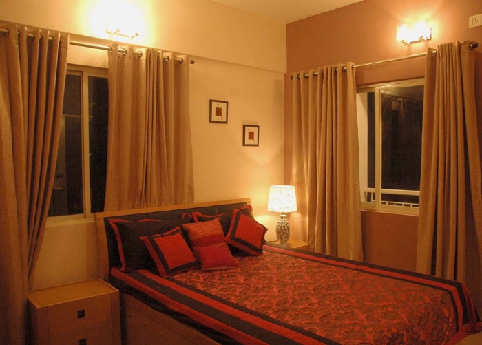 2 bhk flats in south kolkata 3 bhk model flats in behala for Bedroom designs kolkata